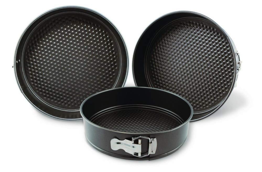 Water Hep Muffin Pan Nonstick Springform Set Of Three-3Pc Nonstick Springform Pan Set