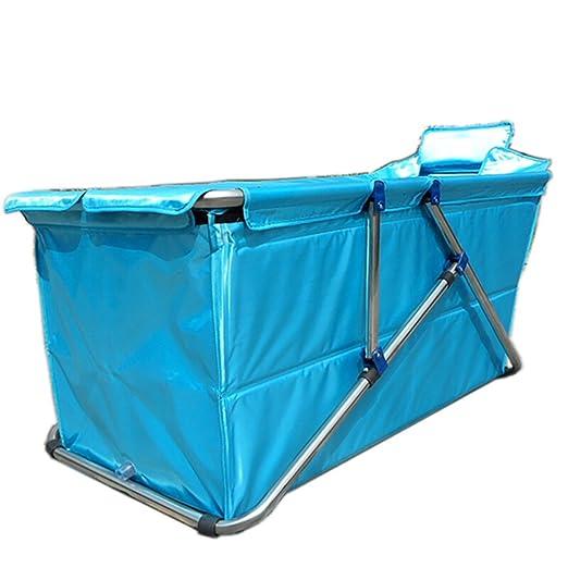 XUE Baño Plegable Baño Adulto Bebés más Gruesos y niños pequeños Piscina (105cm * 56cm * 52cm): Amazon.es: Hogar