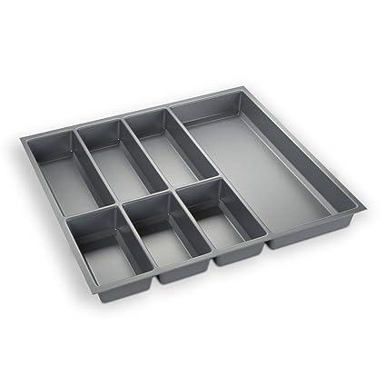 ORGA-BOX® III Cubertero Gris argentado para cajónes de 60 cm tiroirs p.