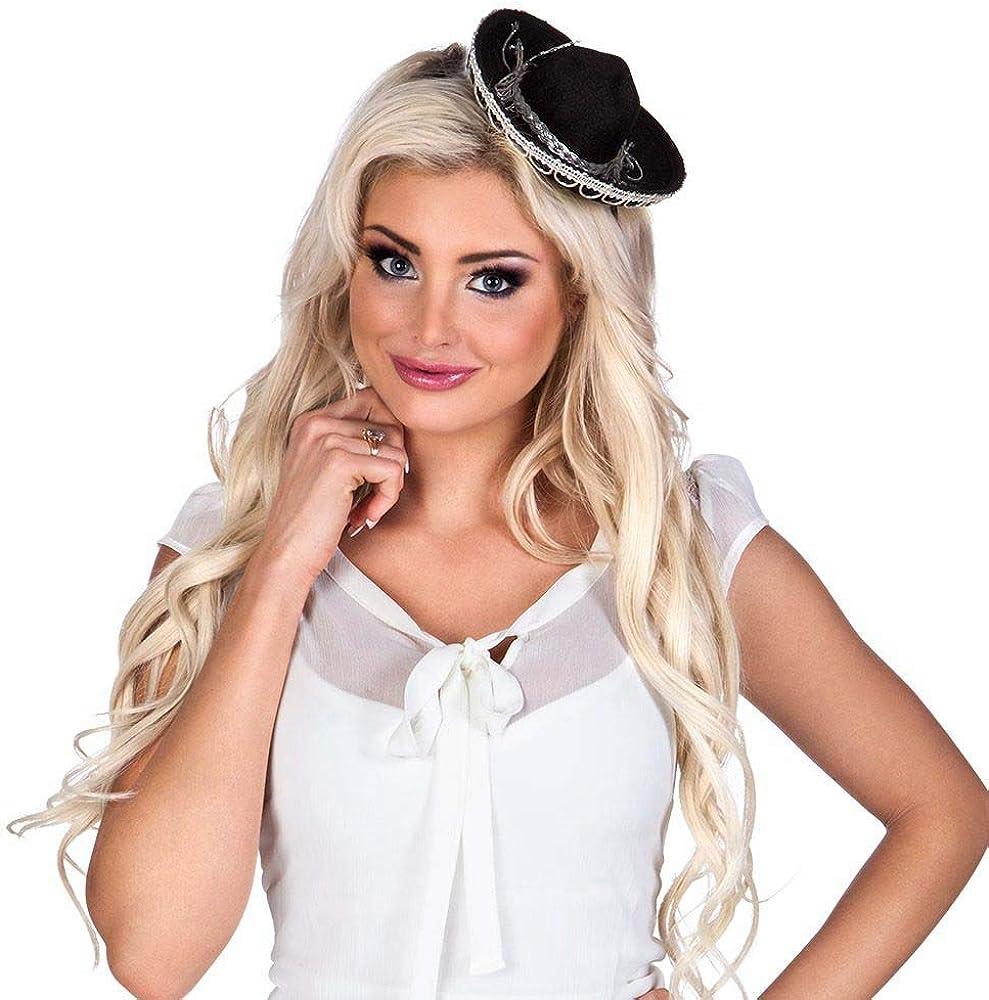 Boland BOL54419 Mini Sombrero de Mujer
