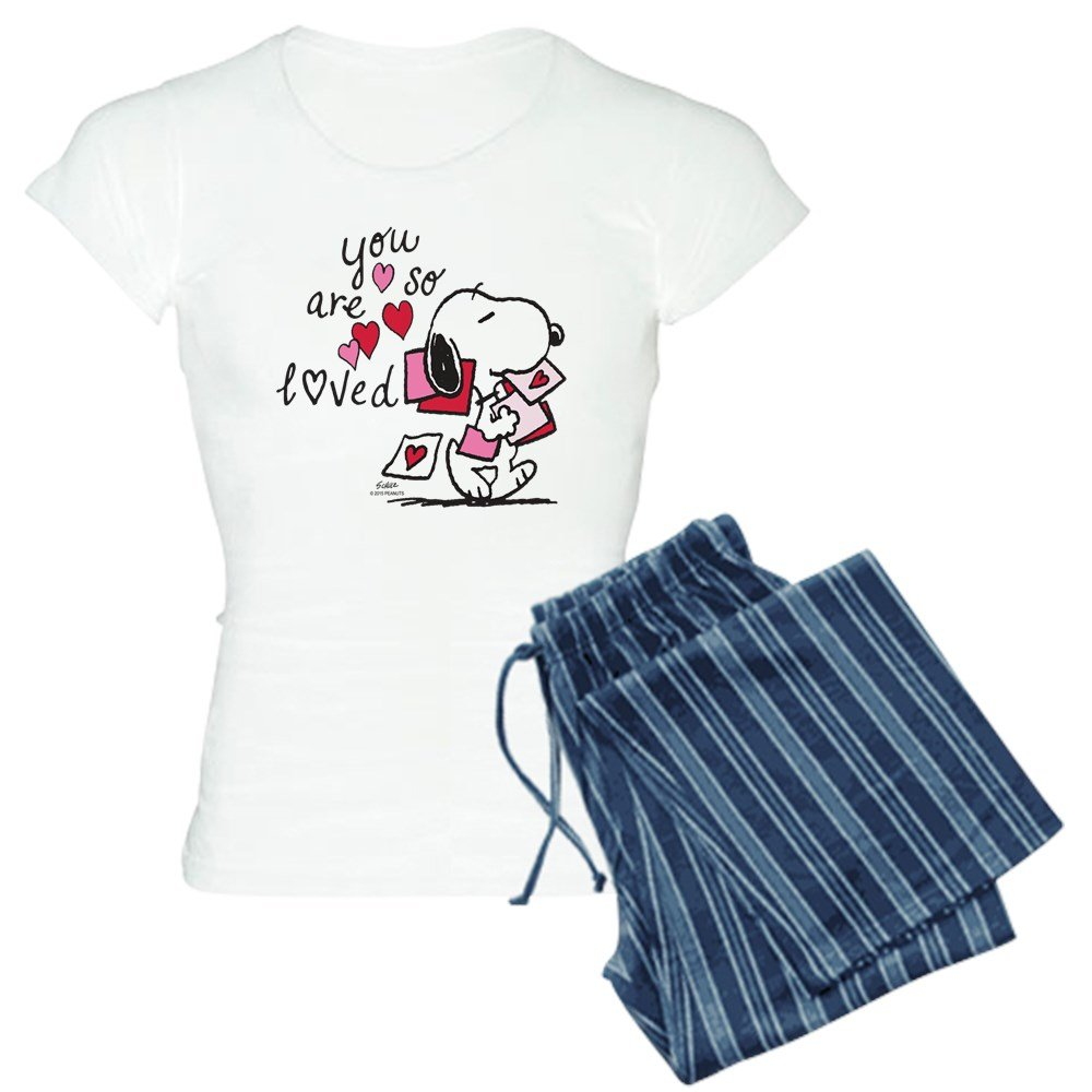 CafePress - Snoopy - You Are So Loved - Womens Pajama Set