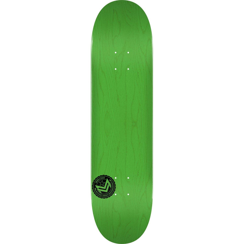 ミニロゴデッキ 181/K-15-8.5 シェブロンスタンプ グリーン - ASコンプリートスケートボードとして組み立て済み   B07CPJK62B, 七城町 9525b650
