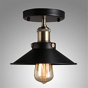 SKQC Lámparas de Techo de la lámpara de Techo Retro Vintage ...