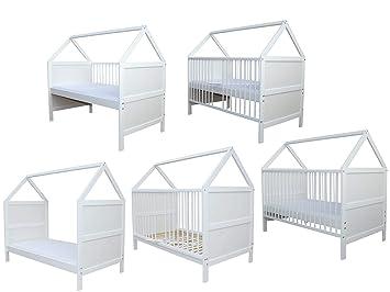 Babybett  Kinderbett Juniorbett umbaubar 140x70  nr 16