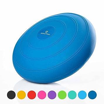 Sitzkissen Luftkissen Balancekissen Gleichgewicht Kissen mit Pumpe Balancekissen & -boards