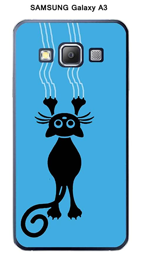 Onozo Carcasa Samsung Galaxy A3 diseño gato Vengador fondo ...