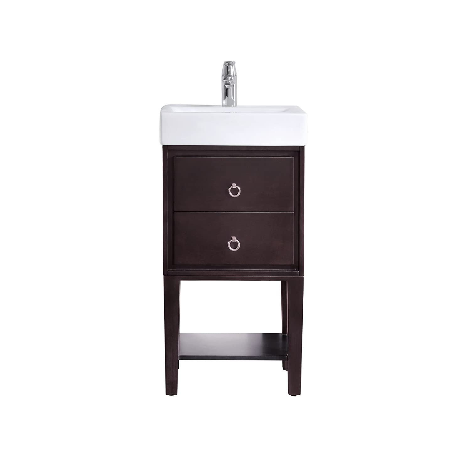 18 Inch Bathroom Sink And Vanity Combo Part - 25: Avanity Kent 18 In.
