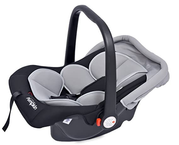 Little Pumpkin - Kiddie Kingdom - Infant Car Seat Cum Carrycot (Black Grey)