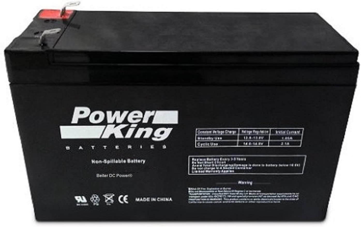 APC BE500R 12V 9Ah UPS Battery This is an AJC Brand Replacement