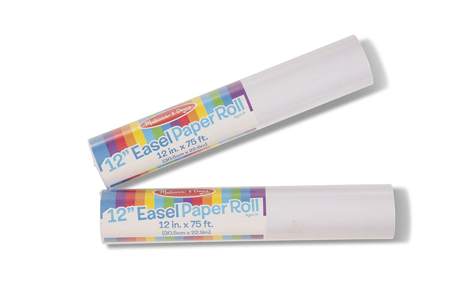 Melissa /& Doug Tabletop Easel Paper Roll 12 inches x 75 feet