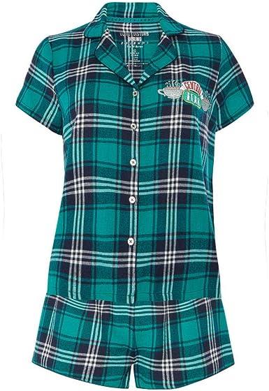 Conjunto de pijama para mujer con diseño de camiseta y ...