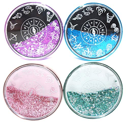 Cute Fashion Contact Lens Case,Portable Travel Glitter Luxury
