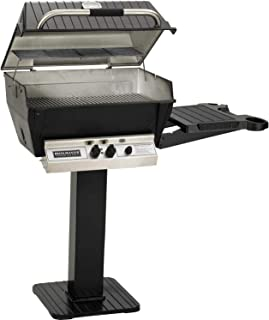 product image for Broilmaster H3 Grill Package, Includes 26-Inch Patio Post with Base and Side Shelf Natural Gas