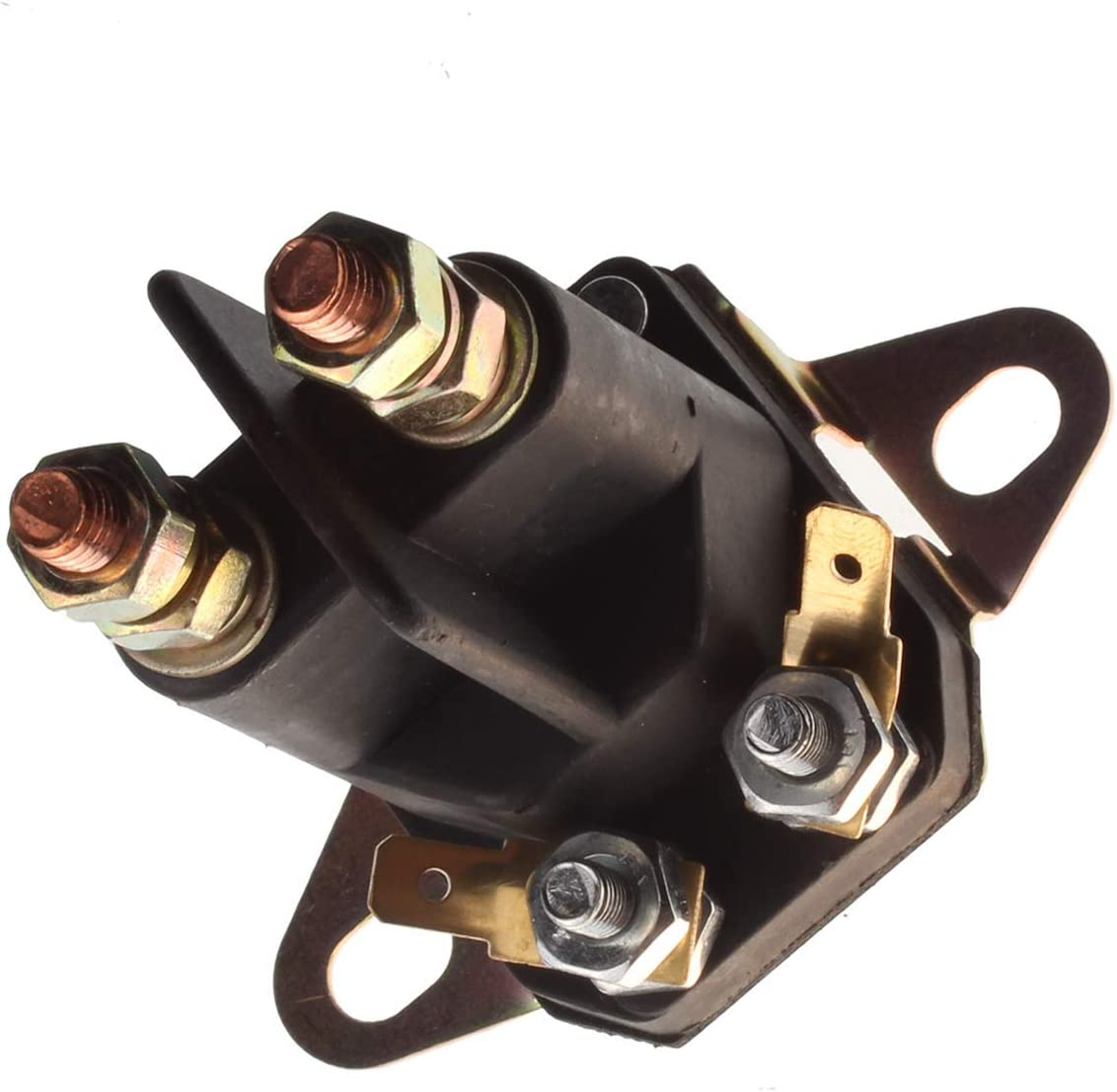 FridayParts 12V Universal Relay Solenoid 4 Post Plow for Western Fisher Meyers Snowplow Blade