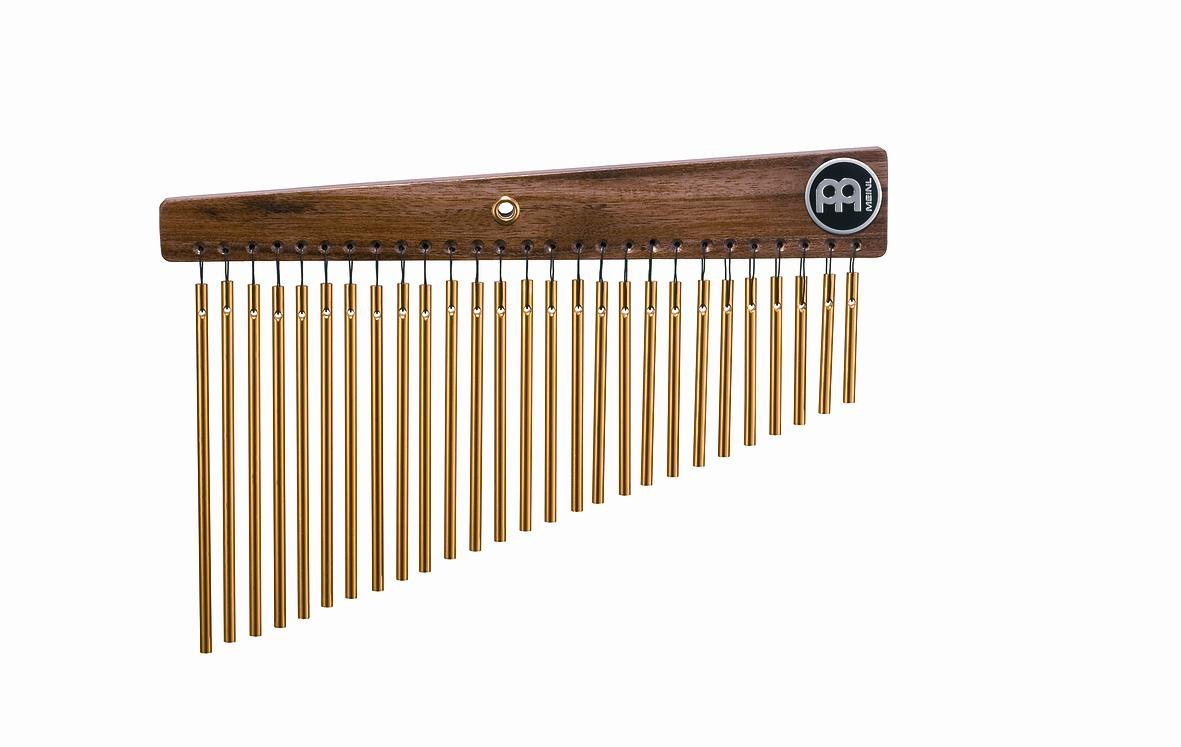 Meinl Percussion CH27ST Gold Anodized Aluminum Alloy Studio Single Row Chimes, 27 Bars by Meinl Percussion