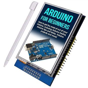 kuman R3 2.8 Pulgadas TFT de Pantalla Táctil con Conector de Tarjeta SD para Arduino Nano Mega2560 320x240 2.8