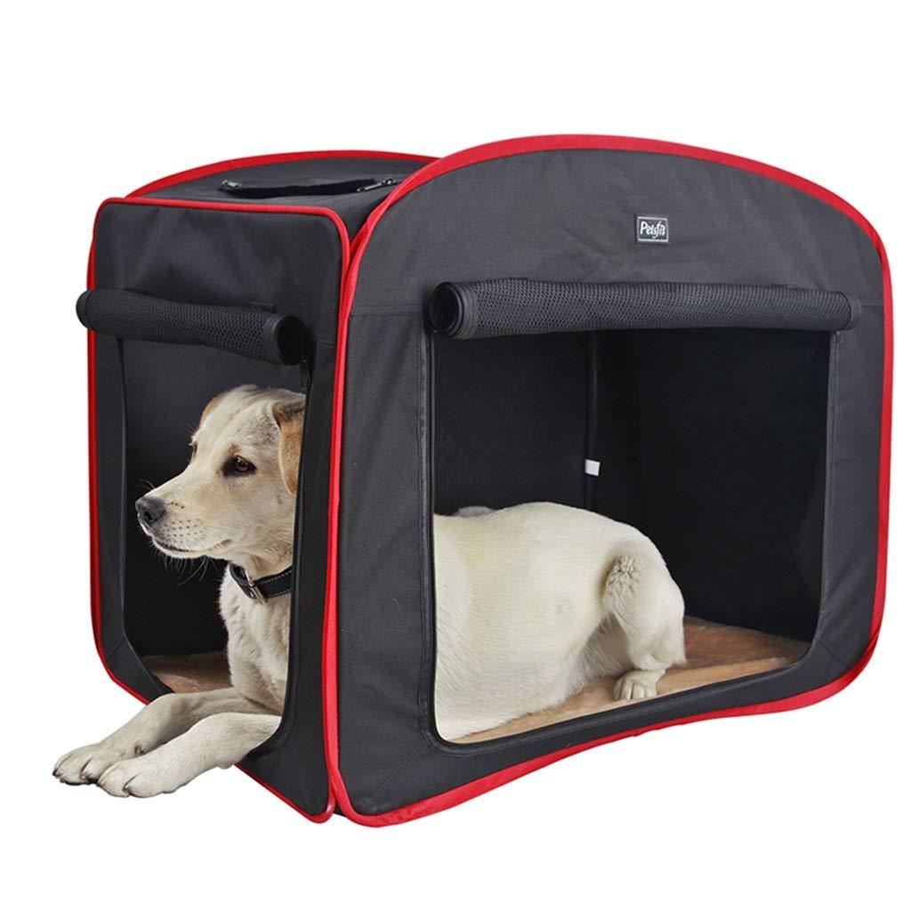 Black 476848cm Black 476848cm Cages, Crates & Carriers Car Pet Bag Outdoor Dog Tent Collapsible Kennel Cat Litter Breathable Cat Tent Household Four Season Pet Box Portable Pet Travel Bag Load 5-25kg