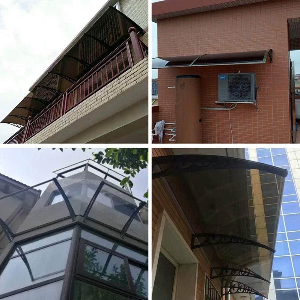 WXQ Eingangst/ür EIN /Überdach Vordach T/ürdach Haust/ür /Überdachung Haust/ür /Überdachung T/ürvordach F/ür T/üren Color : Blue, Size : 60X80cm Fenster Und Terrassen