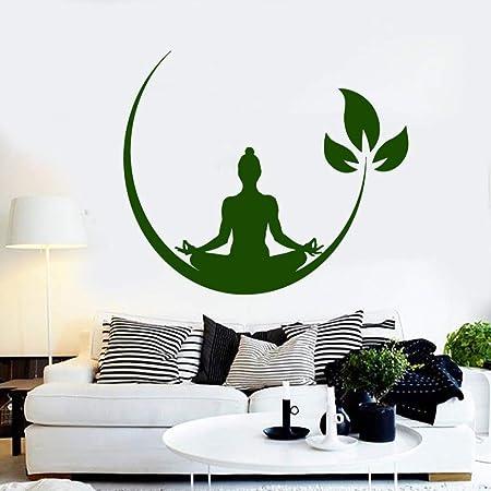 Yoga Meditation Room Vinilo Adhesivos de Pared Budista Zen ...