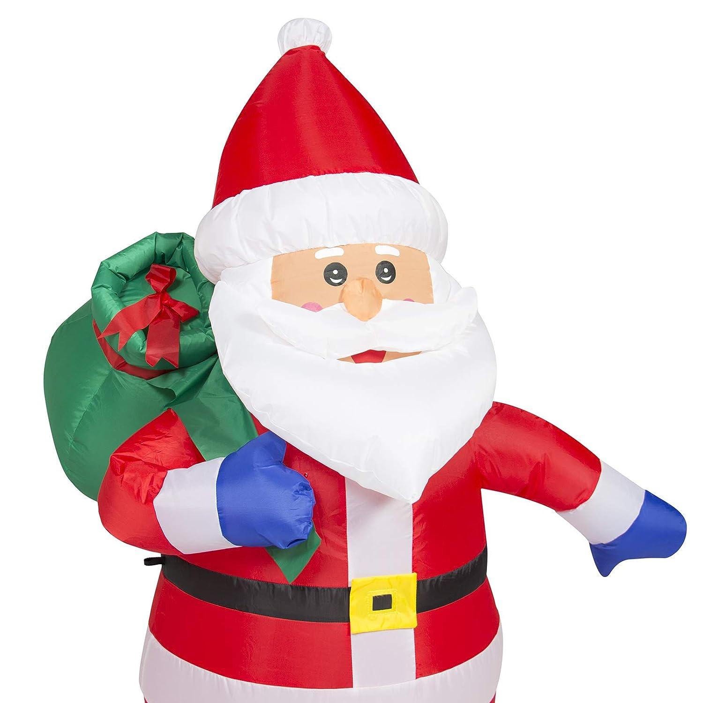 Amazon.com: Best Choice Products 4 FT Seasonal Christmas Prelit ...