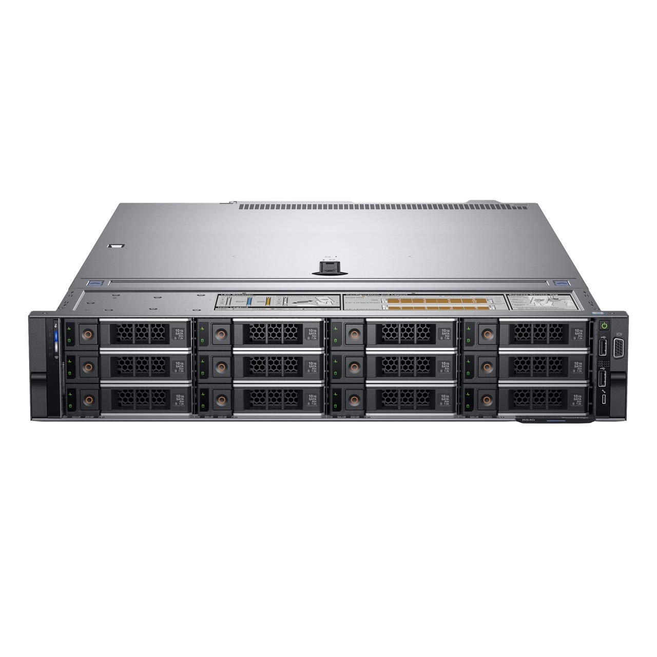 Dell PowerEdge R540 Rack Server, Intel Xeon 4110 with 16GB