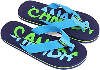 f3f206141 Robin Ruth - Navy Split Canada Press Men Flip Flop