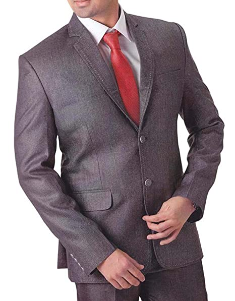 INMONARCH Hombres 4 pc Smoking Traje Gris grandioso TX758 ...