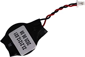 LeFix Replacement Compatible with Coin-Cell RCT CMOS Battery HP 820 G1 640 G1 CR2032 with Connector 2 Pins 2 Wires 1.0mm Pitch