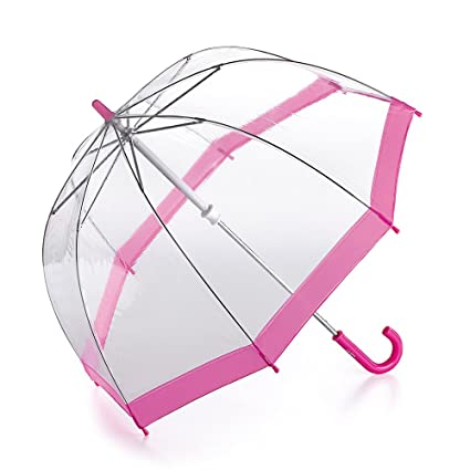 Pink Mini Birdcage See - Through Umbrella