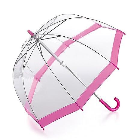 Fulton - Paraguas infantil, talla 68cm long - talla inglesa, color (Pink Trim