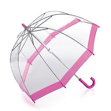 48a007938eef9 Fulton Funbrella Birdcage Kids Umbrella Pink Trim: Amazon.co.uk: Luggage