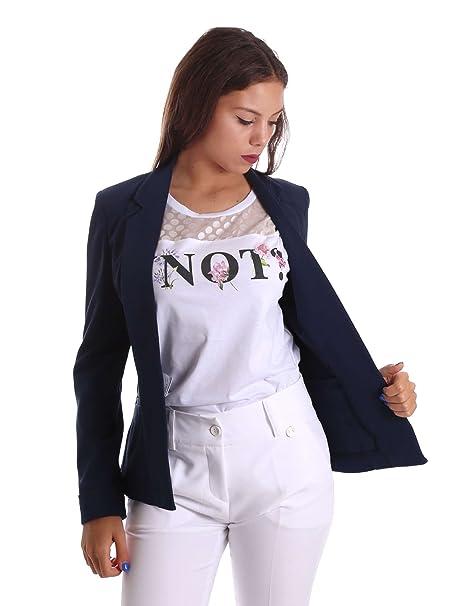 new style 26d0c 61265 YNOT 17PEY004 Blazer Donna Blu 42: Amazon.it: Abbigliamento