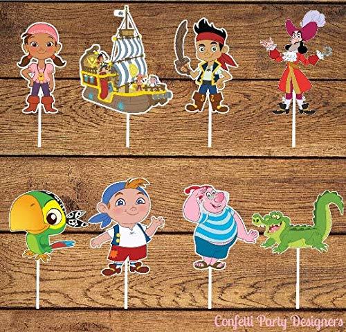 12 Jake and The Neverland Pirates Cupcake -