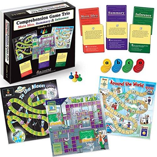 Really Good Stuff Comprehension Game Trio: Main Idea, Summary & Inference - Grades 4-5]()