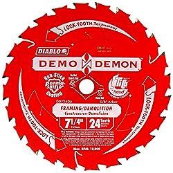 Freud D0724da 7-14-inch Diablo Demo Circular Saw Blade