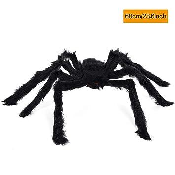 Amazon Com Kaiyang 23 6inch Giant Halloween Black Spider Plush