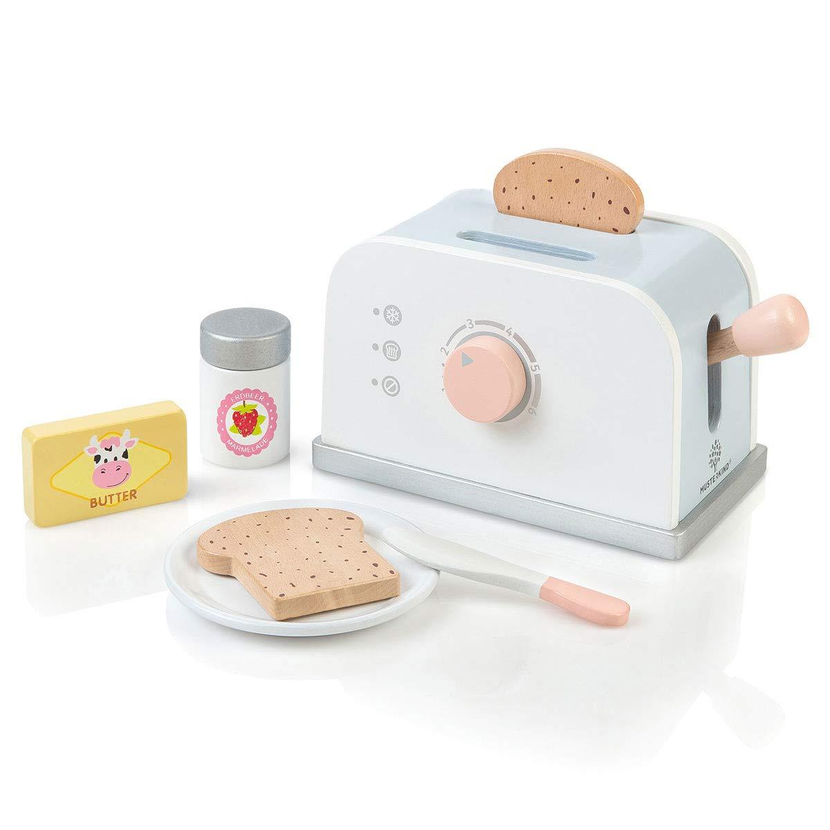 Kinder Toaster - MUSTERKIND Toaster Olea - Spielzeug Toaster