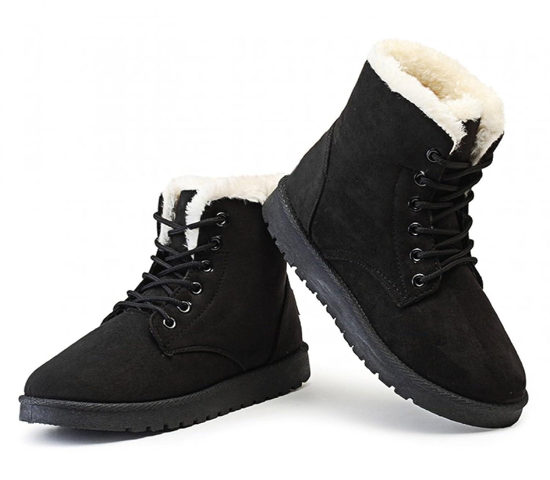 Kize2016 Women Snow Boot, Winter Warm Waterproof Lace Up Ankle Booties