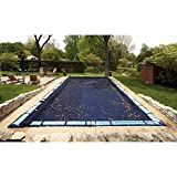 Dirt Defender Rectangular In Ground Leaf Net Pool Cover