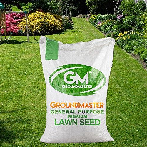 GroundMaster General Purpose Lawn Garden Grass Seed (10KG)