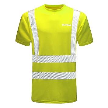 Warnschutz Polo T-Shirt Warnschutzshirt Warnshirt