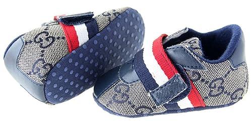 Dantiya(bebe)Zapatos,primer paso antideslizante algodon plantilla suave,Velcro color: Amazon.es: Zapatos y complementos