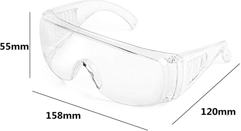 und Anti-Splash-Linsen f/ür Erwachsene Allzweckbrillen Pers/önliche Schutzausr/üstung geringes Gewicht 1 Pcs Schutzbrille Transparente Anti-Fog