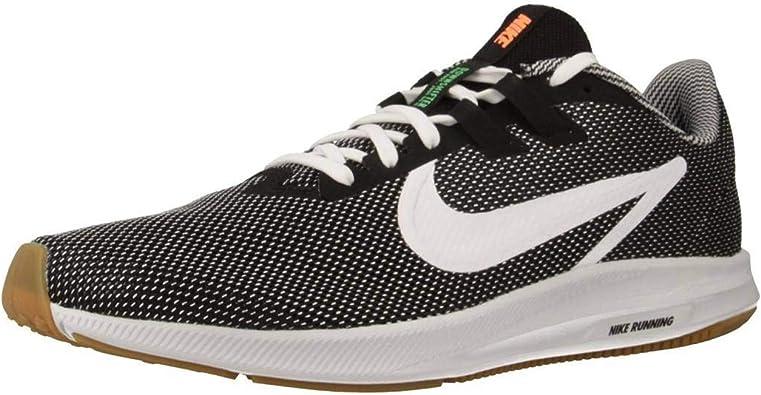 Nike Downshifter 9 SE, Zapatillas de Atletismo para Hombre, Negro (Black/White/Gum Light Brown 000), 40 EU: Amazon.es: Zapatos y complementos