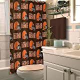 Officially Licensed NFL Cleveland Browns Shower Curtain