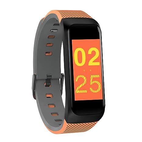TYWZF Fitness Tracker Ritmo Cardíaco Presión Arterial Hombre Bluetooth Banda Inteligente Deporte Pulsera Reloj De Pulsera