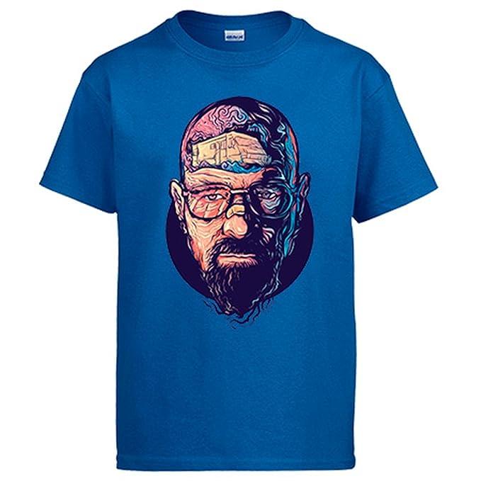 Camiseta Breaking Bad Walter White ilustración: Amazon.es: Ropa y accesorios