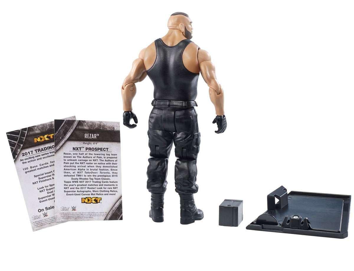 WWE NXT Takeover Rezar Action Figure Mattel