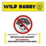 Wild Bobby Gang Logo Parody | Mens Fashion Crewneck Graphic Sweatshirt, Heather Black, 2XL