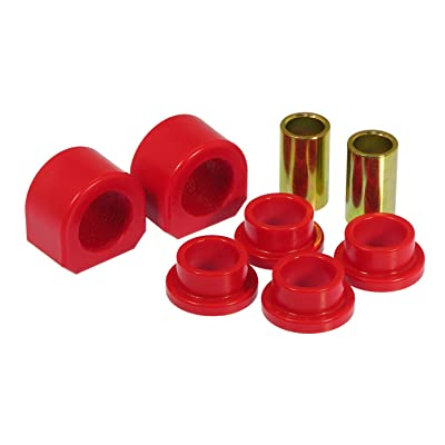 "Prothane 7-1107 Red 1-1/4"" Front Sway Bar Bushing Kit: Automotive"
